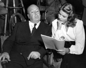 """Notorious""Dir. Alfred Hitchcock, Ingrid Bergman1946 RKO**I.V. - Image 1398_0081"