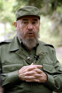 Fidel Castro in the Sierra Maestras in Cuba1996© 1996 Patrick D. Pagnano - Image 14001_0002