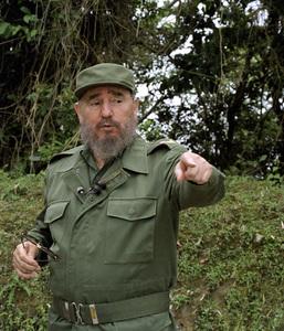 Fidel Castro in the Sierra Maestras in Cuba1996© 1996 Patrick D. Pagnano - Image 14001_0004