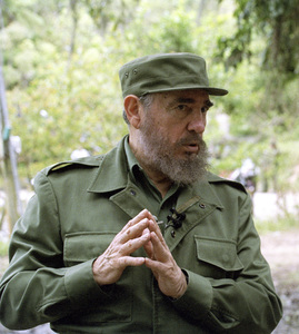 Fidel Castro in the Sierra Maestras in Cuba1996© 1996 Patrick D. Pagnano - Image 14001_0005
