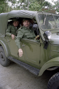 Fidel Castro in the Sierra Maestras in Cuba1996© 1996 Patrick D. Pagnano - Image 14001_0012