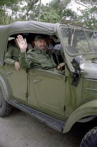Fidel Castro in the Sierra Maestras in Cuba1996© 1996 Patrick D. Pagnano - Image 14001_0013