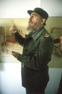 Fidel Castro in Cuba at Museo Giron (The Bay of Pigs Museum at Giron)1996© 1996 Patrick D. Pagnano - Image 14001_0014