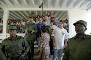 Fidel Castro in Cuba at Lenin High School1996© 1996 Patrick D. Pagnano - Image 14001_0017