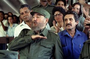 Fidel Castro in Cuba at Lenin High School1996© 1996 Patrick D. Pagnano - Image 14001_0018