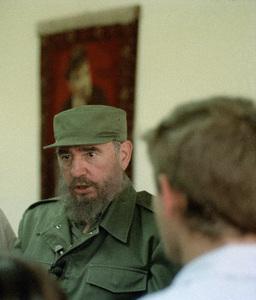 Fidel Castro in Cuba at Lenin High School1996© 1996 Patrick D. Pagnano - Image 14001_0020