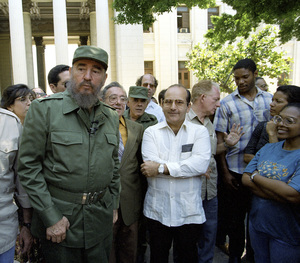 Fidel Castro at The University of Cuba, Havana1996© 1996 Patrick D. Pagnano - Image 14001_0021