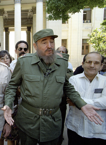 Fidel Castro at The University of Cuba, Havana1996© 1996 Patrick D. Pagnano - Image 14001_0022