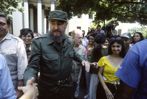 Fidel Castro at The University of Cuba, Havana1996© 1996 Patrick D. Pagnano - Image 14001_0023