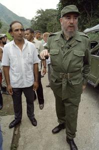 Fidel Castro in Cuba at rural school1996© 1996 Patrick D. Pagnano - Image 14001_0024