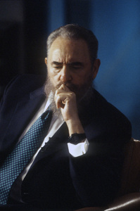 Fidel Castro during an interview at the Capitol Building in Havana, Cuba1996© 1996 Patrick D. Pagnano - Image 14001_0030