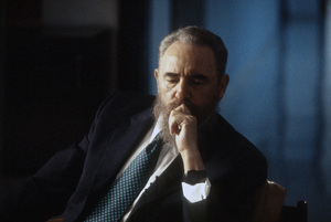 Fidel Castro during an interview at the Capitol Building in Havana, Cuba1996© 1996 Patrick D. Pagnano - Image 14001_0031