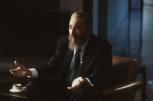 Fidel Castro during an interview at the Capitol Building in Havana, Cuba1996© 1996 Patrick D. Pagnano - Image 14001_0037