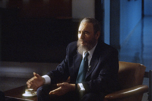 Fidel Castro during an interview at the Capitol Building in Havana, Cuba1996© 1996 Patrick D. Pagnano - Image 14001_0038