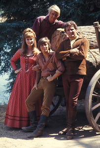 """Here Come The Brides""Robert Brown, Bobby Sherman, Bridget Hanley, David Soul1969 © 1978 Gene Trindl - Image 14098_0001"