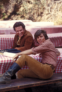 """""""Here Come The Brides""""Bobby Sherman, Robert Brown1969 © 1978 Gene Trindl - Image 14098_0006"""