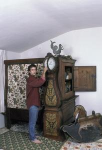 Bronson Pinchot at home1986 © 1986 Gene Trindl - Image 14099_0003