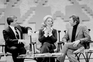 """Merv Griffin Show, The"" Merv Griffin, DinahShore, Steve Lawrence c. 1969 © 1978 Chester Maydole - Image 14113_0002"