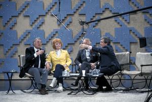 """""""The Merv Griffin Show""""Gary Morton, Lucille Ball, Douglas Fairbanks Jr., Merv Griffin1972 © 1978 Gene Trindl - Image 14113_0010"""