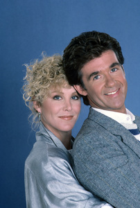 """Growing Pains""Joanna Kerns, Alan Thicke1985 © 1985 Gene Trindl - Image 14114_0030"