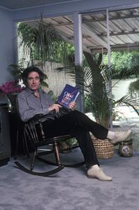 Richard Kline at home reading Clifford Odets1982 © 1982 Gene Trindl - Image 14129_0003
