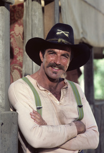 """The Shadow Riders""Tom Selleck1982© 1982 Gene Trindl - Image 14163_0001"