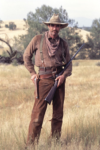 """The Shadow Riders""Tom Selleck1982© 1982 Gene Trindl - Image 14163_0004"