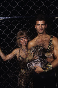"Lorenzo Lamas on ""The 11th Annual Circus of the Stars""1986© 1986 Gene Trindl - Image 14167_0027"