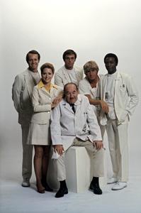 """The Interns""Mike Farrell, Broderick Crawford1970 © 1978 Gene Trindl - Image 14272_0002"