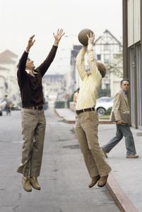 Garry Marshall and Ron Howard1979© 1979 Gene Trindl - Image 14276_0009