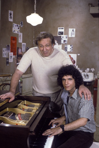 """Fame""Lee Curreri, Carmine CaridiC. 1984Photo by Gary Null**H.L. - Image 14348_0057"