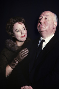 """""""Alfred Hitchcock Hour"""" Patricia Hitchcock, Alfred Hitchcock1962 © 1978 Gene Trindl - Image 14360_0001"""