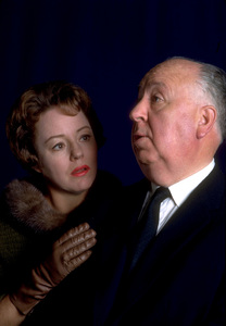 """Alfred Hitchcock Hour,""Patricia Hitchcock and Alfred Hitchcock.1962/CBS. © 1978 Gene Trindl - Image 14360_0003"