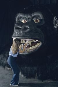 King Kong (Universal Studios attraction)1986 © 1986 Gene Trindl - Image 14387_0003