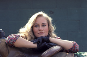 """The Yellow Rose""Cybill Shepherd1983 © 1983 Gene Trindl - Image 14440_0001"
