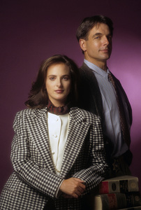 """Reasonable Doubts""Marlee Matlin, Mark Harmon1991© 1991 Mario Casilli - Image 1448_0018"