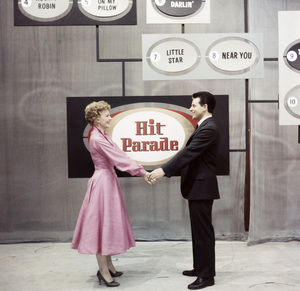 """Your Hit Parade""Dorothy Collins, Johnny Desmondcirca 1952 © 1978 George E. Joseph - Image 14606_0001"