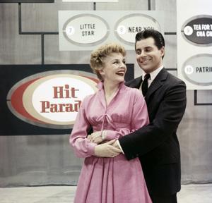 """Your Hit Parade""Dorothy Collins, Johnny Desmondcirca 1952 © 1978 George E. Joseph - Image 14606_0002"