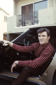 David Canary at home in his 1968 Chevrolet Corvette1969© 1978 Gene Trindl - Image 14631_0005