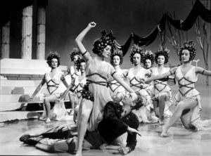 """Down To Earth""Rita Hayworth, Marc Platt1947/ColumbiaMPTV/ © 1978 Ned Scott Archive - Image 14701_0005"