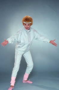"""""""Life with Lucy""""Lucille Ball1986© 1986 Mario Casilli - Image 14706_0006"""