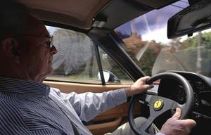 Phil Hill1961 Formula 1 World Championfor Ferrari. Driving Ron Avery