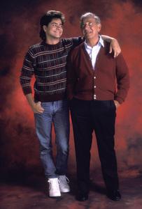 """You Again?""John Stamos, Jack Klugman 1987 © 1987 Mario Casilli - Image 14729_0014"
