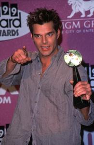 "Ricky Martin at the""Billboard Music Awards,""12/8/99. © 1999 Scott Weiner - Image 14796_0003"