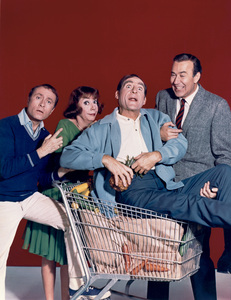 """The Sid Caesar, Imogene Coca, Carl Reiner, Howard Morris Special""(left to right) Howard Morris, Imogene Coca, Sid Caesar, Carl Reiner1967 - Image 1480_0002"