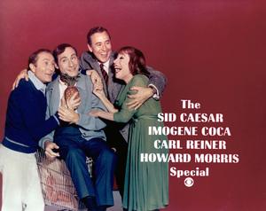 """The Sid Caesar, Imogene Coca, Carl Reiner, Howard Morris Special""(left to right) Howard Morris, Sid Caesar, Carl Reiner, Imogene Coca1967 - Image 1480_0003"