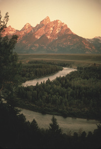 Scenics (Mountains)Snake River 1972 © 1978 Sid Avery - Image 14811_0004