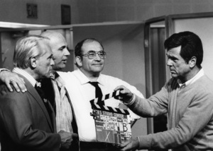 """""""The Mary Tyler Moore Show""""Ted Knight, Gavin MacLeod, Edward Asner, Jackie Cooper1974 - Image 1491_0062"""