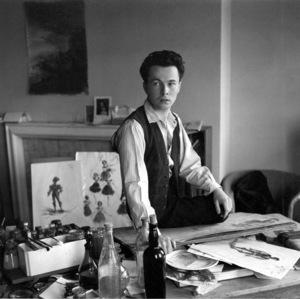 Artist: Male Illustratorcirca 1950 © 2000 Mark Shaw - Image 14913_0001