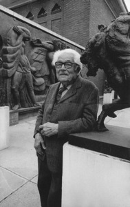 Michel Dufet at musée Bourdelle in Paris, Francecirca 1970s© 1978 Wynn Hammer - Image 14913_0002